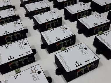 Ethergate - Ethernet controller / converter