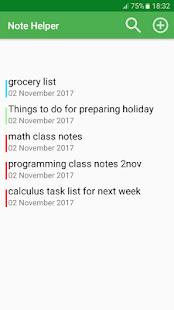 Note Helper