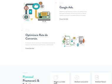 SEO Agency - Landing Page
