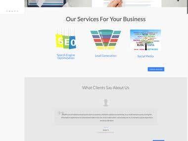 WordPress Website (Digital Marketing Agency)