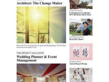 The Design Magazine