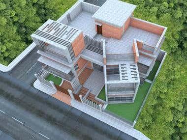 Duplex Building design