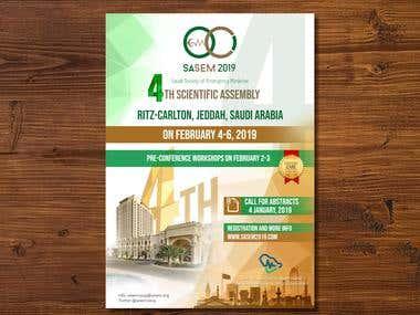 Flyer design, Poster design