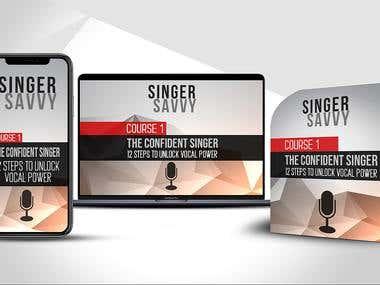 E-book graphic design