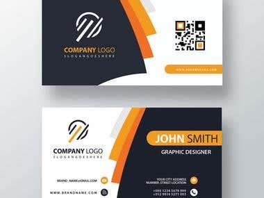 Custom Banner and Card Design