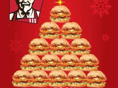 Creative Ads Designed for KFC