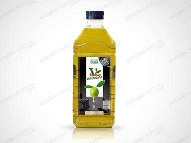olive oil logo and packaging