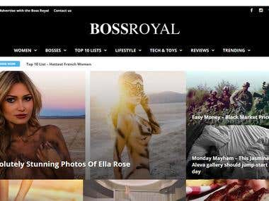 BossRoyal Website