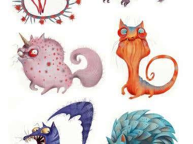 Cat creatures