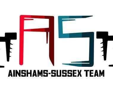 Logo Design - AinShams-Sussex Team