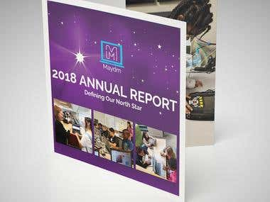 Annual Report design & layout