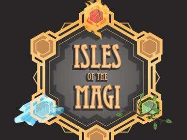 Isles of Magi / Graphic identity for video games