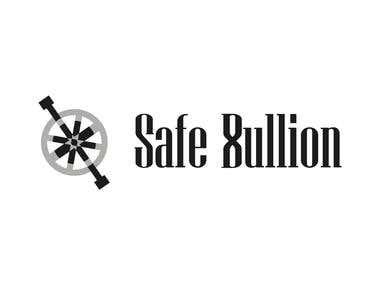 Safe Bullion / Graphic image proposal for web site.