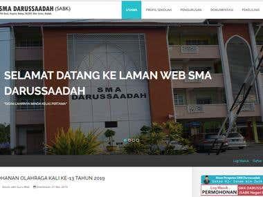 School website - SMAD