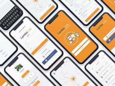 Mobile UI Screens