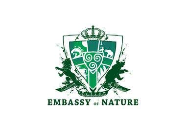 Embassy of Nature logo Concept