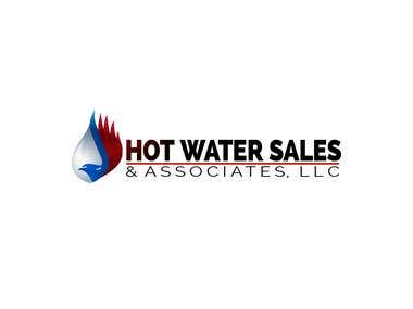 HOT WATER SALES Logo concept