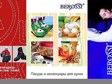catalogues, brochures