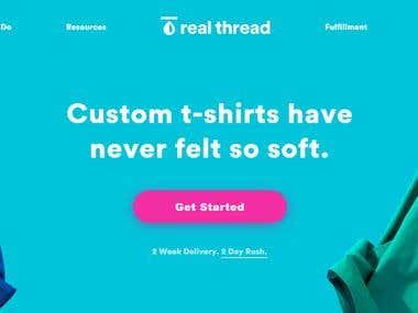 Real Thread (Customize your Shirt)