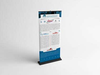 Standee Rollup design