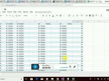 Auto Sync from MS Excel to Google Sheet