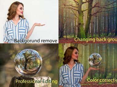 Photoshop Work samples