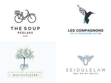 I Will Design 5 Minimalist Creative Logo Designs In 24hrs