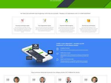 Landing Page:- EMIPay
