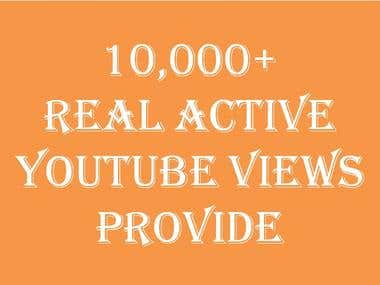 10 K YouTube Views provide