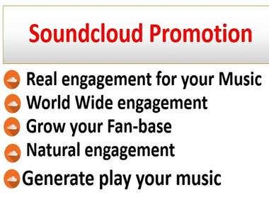 I Will Do Real Soundcloud Promotion For Real Music Lovers