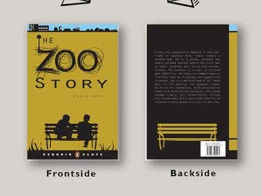 Book Cover Mock-up for Printing