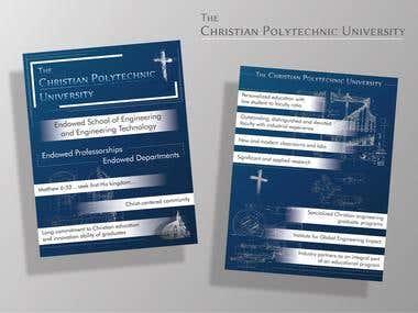 Brochure for University