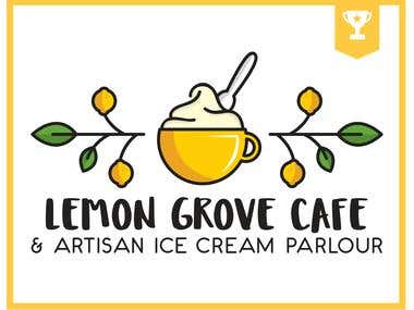 Cafe & Ice cream parlour logo winner