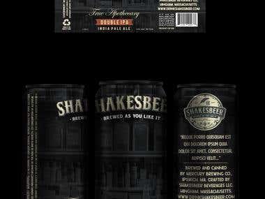 Beer Packaging and Logo Design