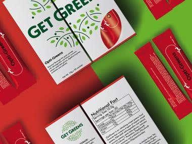 Get Greens Box Design