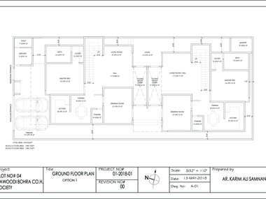 RESIDENCE LAYOUT (DESIGN)