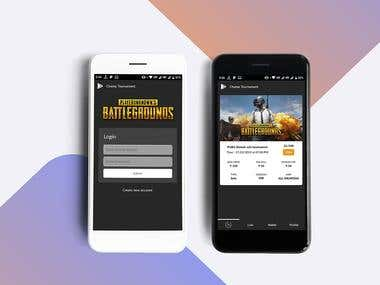 Pubg Tournament Application
