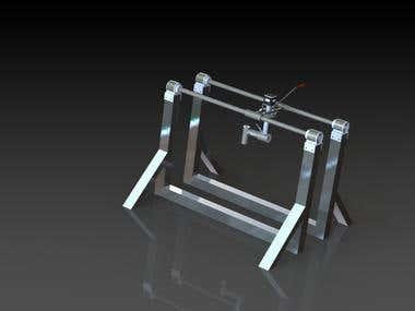 Design of Food printing machine