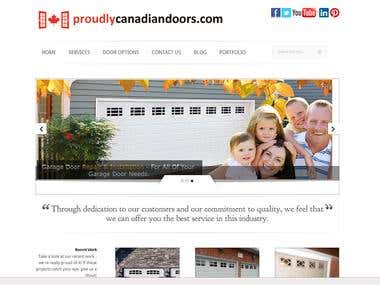 Proudly Canadian Doors