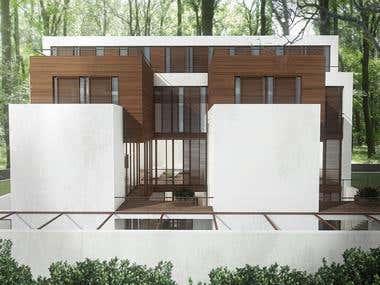 exterior building visualisation