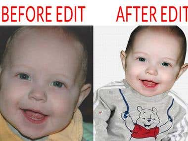 Image Retouch And Background Remove