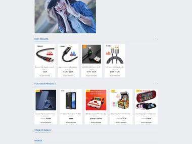 WordPress Website (China Phone Market)