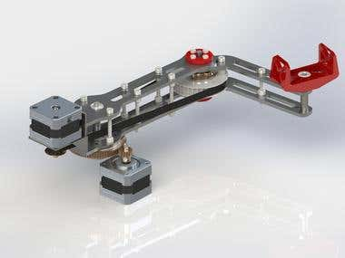 Design of a SCARA robotic manipulator