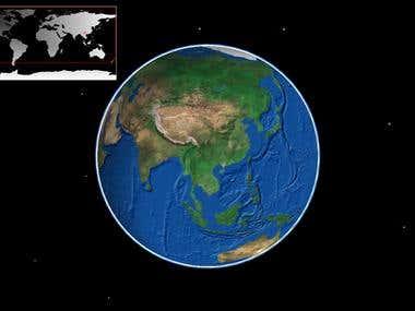Virtual Globe like Google Earth