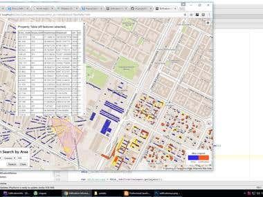 Web Map(Edification Management Demo System)