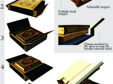 COMPETITION- QURAN BOX DESIGN