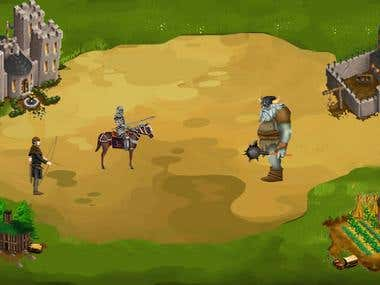 Medieval Strategy Game