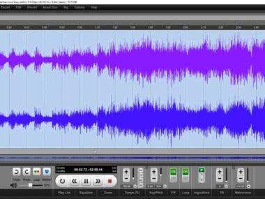 Music Key, Chord, Beat Detection