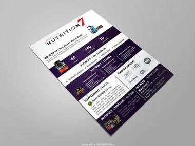 Leaflet, Flyer and Brochure Design
