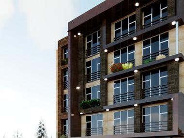 Residential façade design